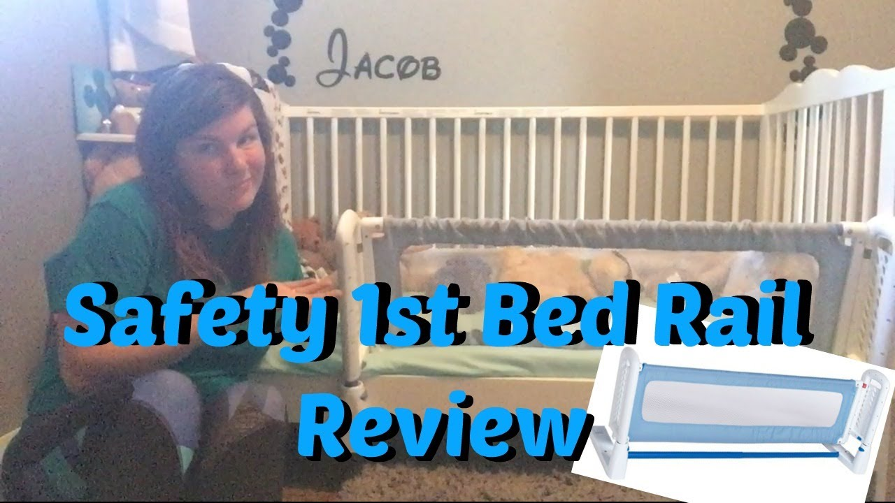 ccbc82576 Safety 1st Top Of The Mattress Bed Rail REVIEW - YouTube