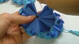 Ku-ku Origami Ornament (ornamento)