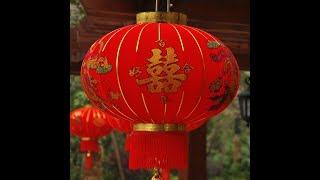 Как сделать китайский фонарик из бумаги