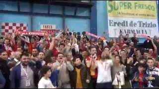 22-03-2015: Exprivia NelDiritto Molfetta, la festa dei Fedelissimi per l'approdo ai Play Off