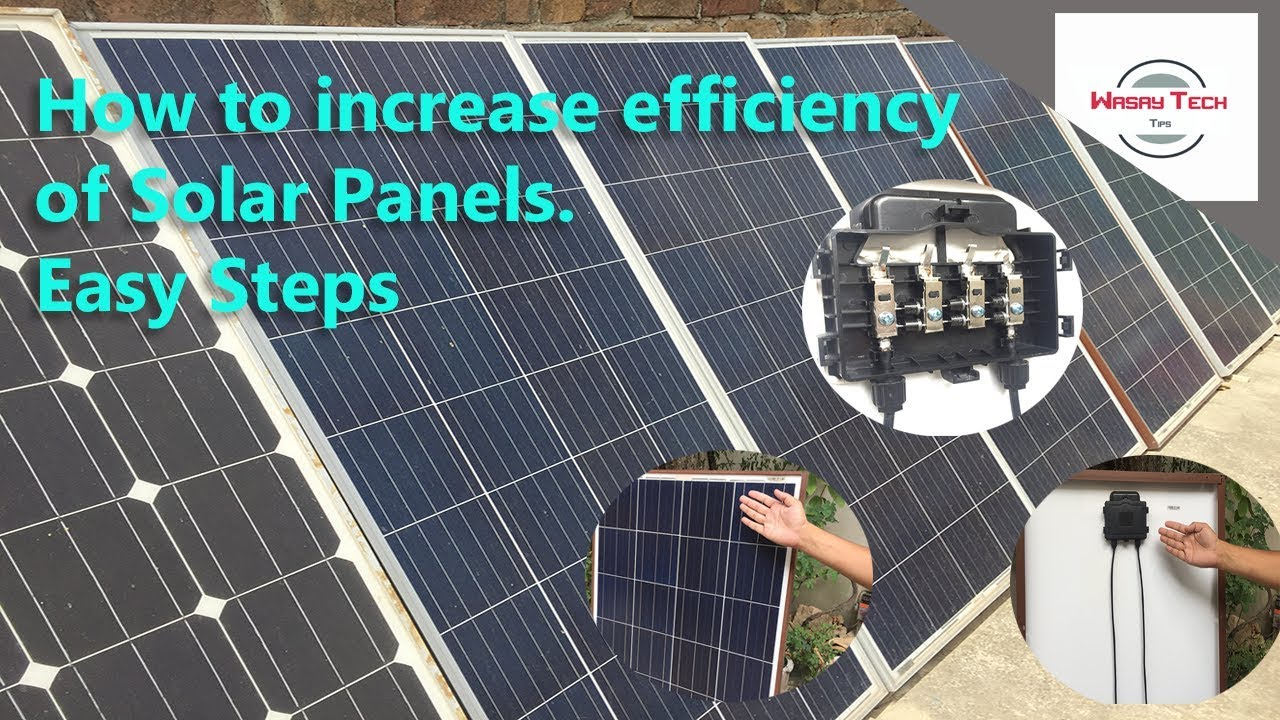 How To Increase Efficiency Of Solar Panel Urdu How To