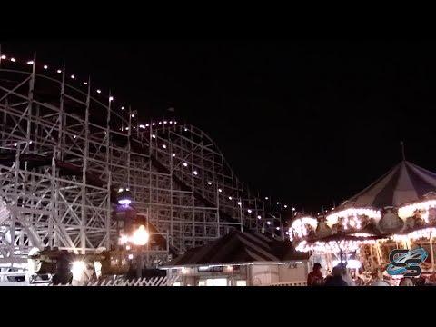 An Evening at Belmont Park feat. Giant Dipper! Coaster Vlog #255