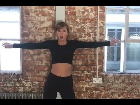 Taylor Swift -  Delicate Music Video Dance Rehearsal
