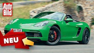 Porsche 718 GTS 4.0 (2020): Test - Cayman - Boxster - Motor - Infos - Sechszylinder - deutsch