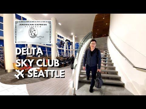Delta Sky Club At SEA: Airport Oasis (Amex Platinum, Delta Reserve)
