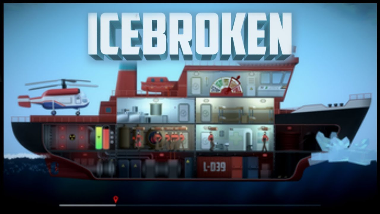 icebroken -  crew    energy management game