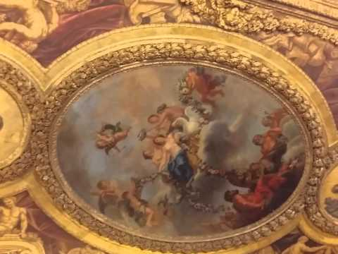 Tour of the inside of the Palace of Versailles part 1