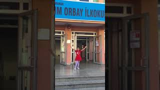 (BAKMADAN GEÇME)2017-2018 istiklal marşını güzel okuma yarışması birincisi Tuana Carmen Ateş