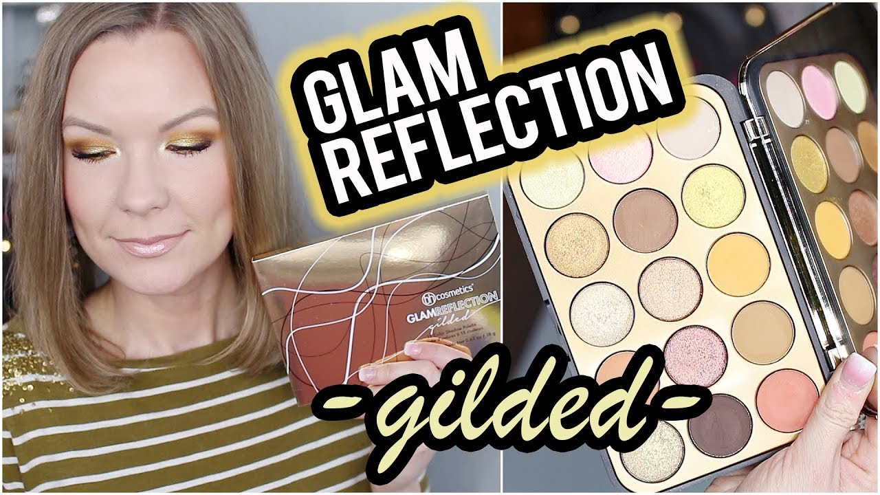 Bh Cosmetics Glam Reflection Gilded Swatches Review Tutorial Lipglossleslie