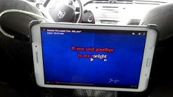 How to add a karaoke system in your car.