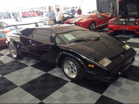 1989 Lamborghini Countach 25th Anniversary Edition - 2015 Barrett-Jackson Auction in Palm Beach