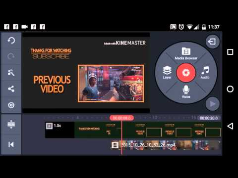 How to | How to add video on your outro video