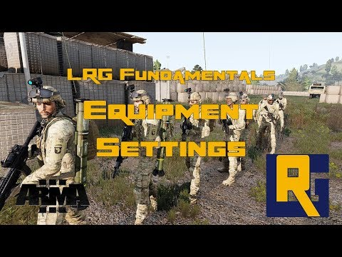 LRG Fundamentals - Equipment Settings