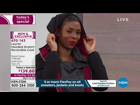 HSN | Cold Weather Fashions featuring Laurier Outerwear Premiere. http://bit.ly/39hppgG