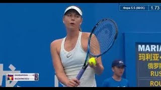 Maria Sharapova VS Buzarnescu Shenzhen Open / Sharapova joins a loaded New Year's Day