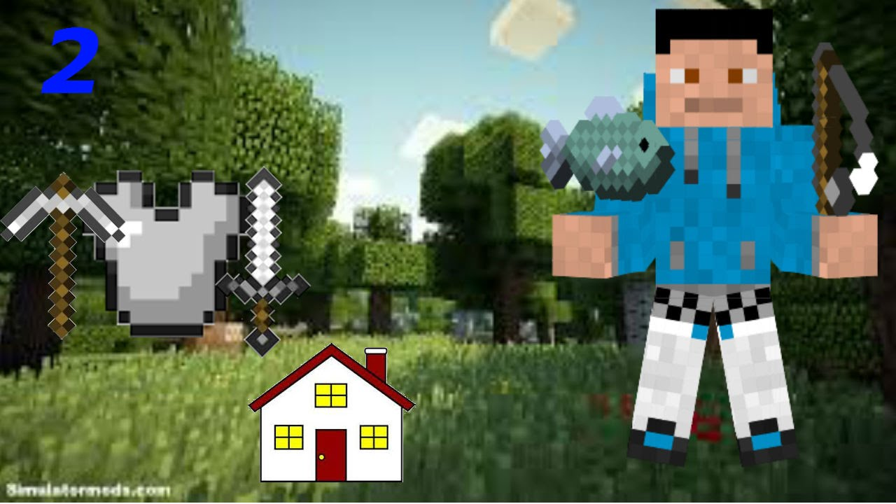 Minecraft Episode 2 Iron Materials Better Home Youtube