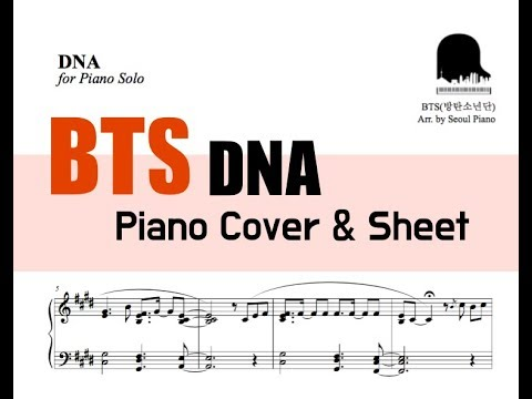 BTS (방탄소년단) - DNA Piano Cover & Sheet [FULL]