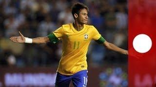 Eigenwilliger Superdribbler: Exklusiv-Interview mit Neymar - sport
