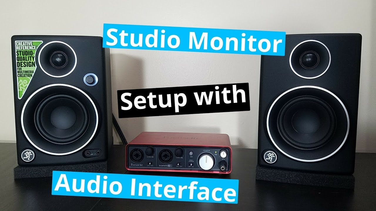 How Do You Hook Up Studio Monitors - Top Porn-8489