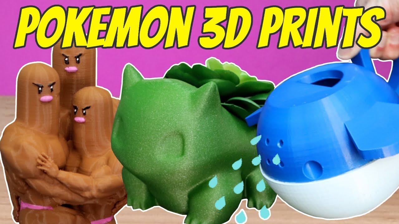 10 Awesome Pokemon 3D Prints