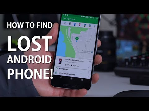 How To Find A Lost Android Phone! [Find My Phone App]