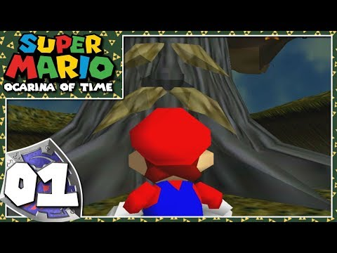 Super Mario 64: Ocarina of Time - Part 1 - Plumber of Time