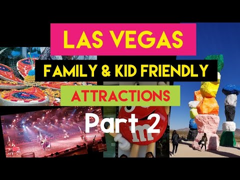 Las Vegas Family And Kid-friendly Attractions And Things To Do  #2