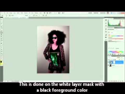 How Adjustment Layers and Layer masks work