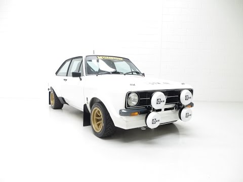 A Millington Powered Ford Escort Mk2 RS1800 Motorsport With MSA Log Book - SOLD!