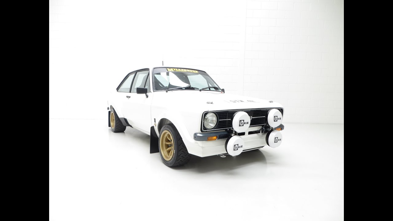 A Millington Powered Ford Escort Mk2 RS1800 Motorsport with MSA Log ...