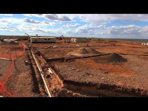 McMahon Services - Carrapateena Exploration Camp Construction Time Lapse