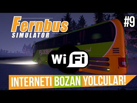 FERNBUS Simulator BETA - Wi-Fi'yi Bozdular! (Türkçe #9)