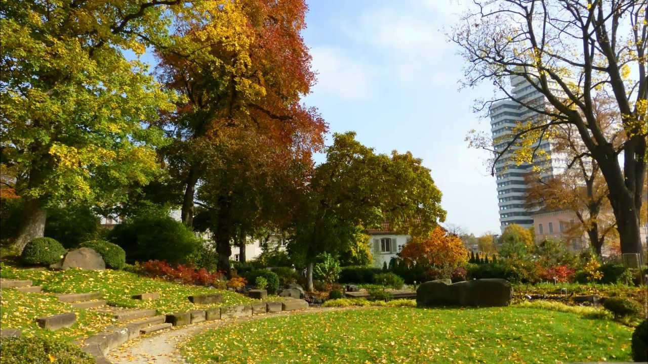 Japanischer Garten Kaiserslautern Im Herbst 2012 Youtube