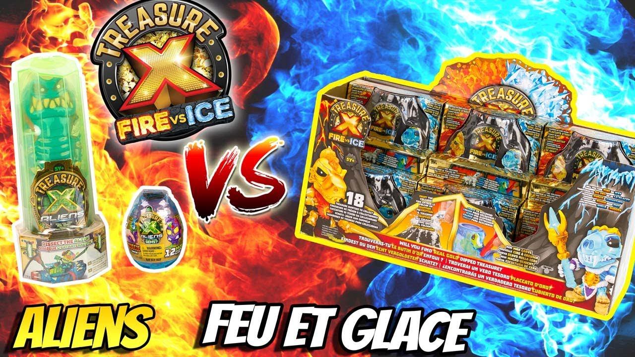 Tresor X Feu Et Glace Vs Tresor X Aliens Qui Va Gagner Chasse Au Tresor Super Heros Et Compagnie Youtube