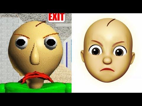 Baldi Becomes An Emoji | ANIMOJI
