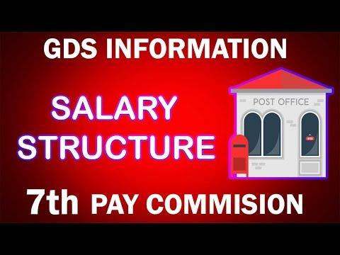 GDS new salary structure *7th Pay Commission*