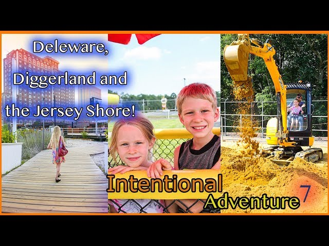 Delaware and the Jersey Shore | Family Travel Adventures | Intentional Adventure Ep. 7