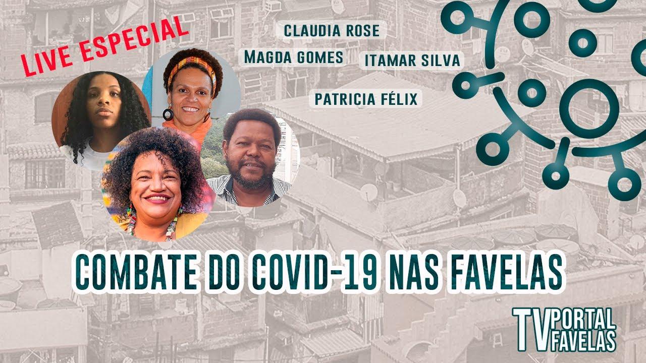 Dia Estadual de Mobilização e Combate ao Covid nas Favelas