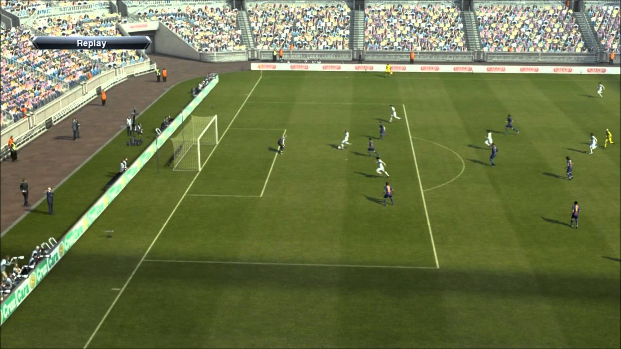 Pes 2013 Real Madrid VS  Barcalona