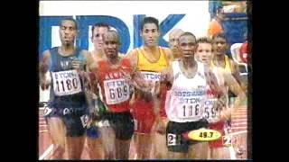 Antonio Reina Cto  Mundo Edmonton 2001 Eliminatorias 800 m l