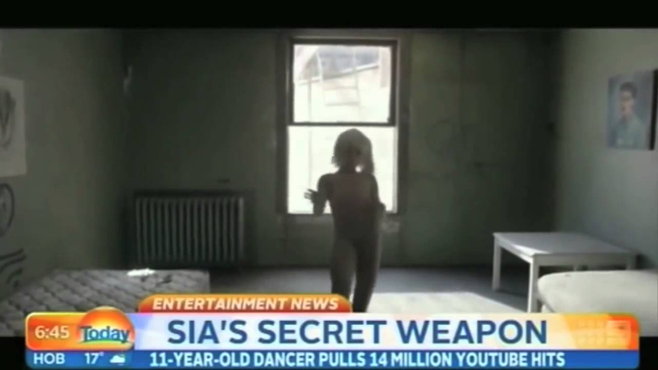 Maddie ziegler interview about being in sias music video chandelier maddie ziegler interview about being in sias music video chandelier arubaitofo Images