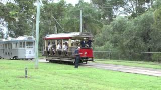 Toast Rack tram at Brisbane Tramway Museum