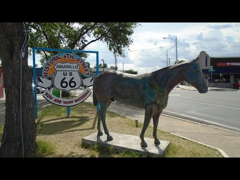 ROUTE 66, AMARILLO, TEXAS, USA