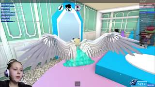 Transformando-se em ELSA sereia princesa!! Roblox Royale High-Ruby Rube