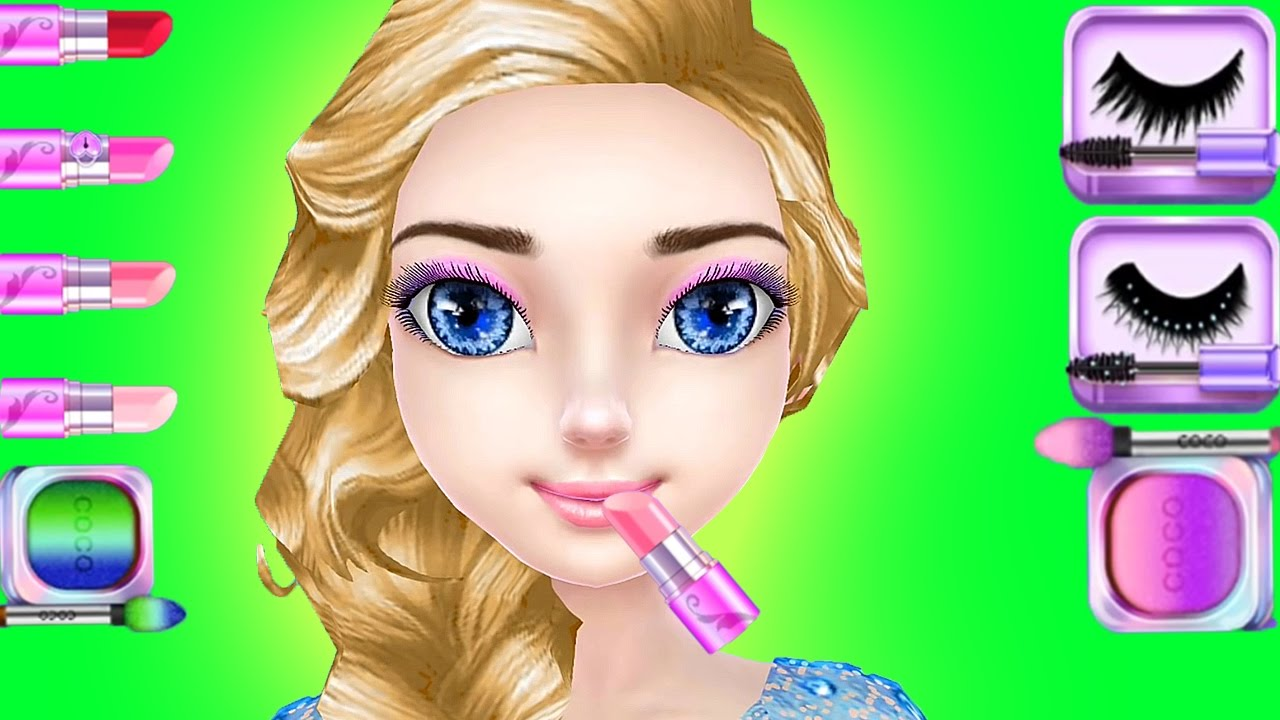 Ice Princess Wedding Day - Dress Up And Makeover Game For Girls ...