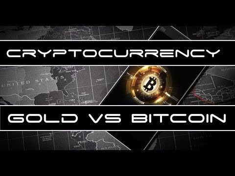 Cryptocurrency Market Update - Bitcoin Vs Gold as Store of Value