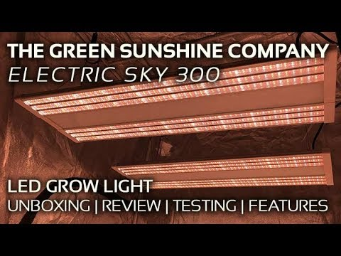 HLG 550 v2 Quantum Board vs  Green Sunshine ES300 LED Grow Light