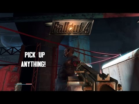 Fallout 4: How to Pick Up Bodies