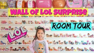 Room Tour Entire LOL Surprise Collection Series 1, 2, 3, 4 Eye Spy 5 Hairgoals + All Limited Edition