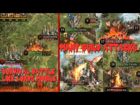 Iron Throne Battle Royal and non stop guild attacks + voice